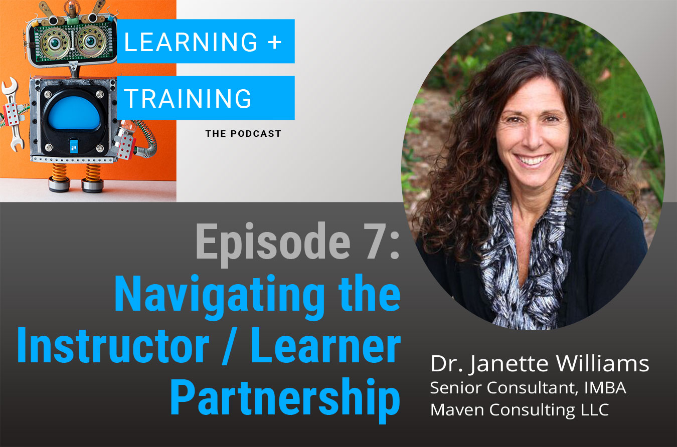 Navigating the Instuctor/Learner Partnership Podcast Episode