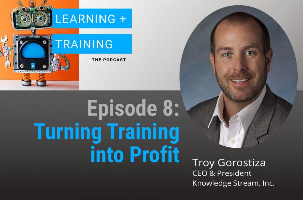Turning Training into Profit Podcast Episode Graphic